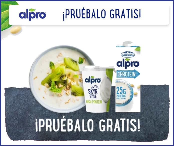 Pruebalo Gratis Alpro Proteína Vegetal