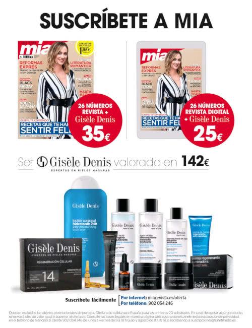 Regalos Suscripción Revistas Mia Diciembre 2020