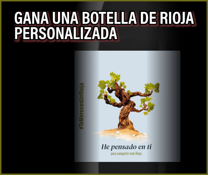 Sorteo 1000 Botellas Rioja Personalizadas