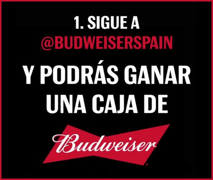 Sorteo Budweiser 10 Cajas Cerveza