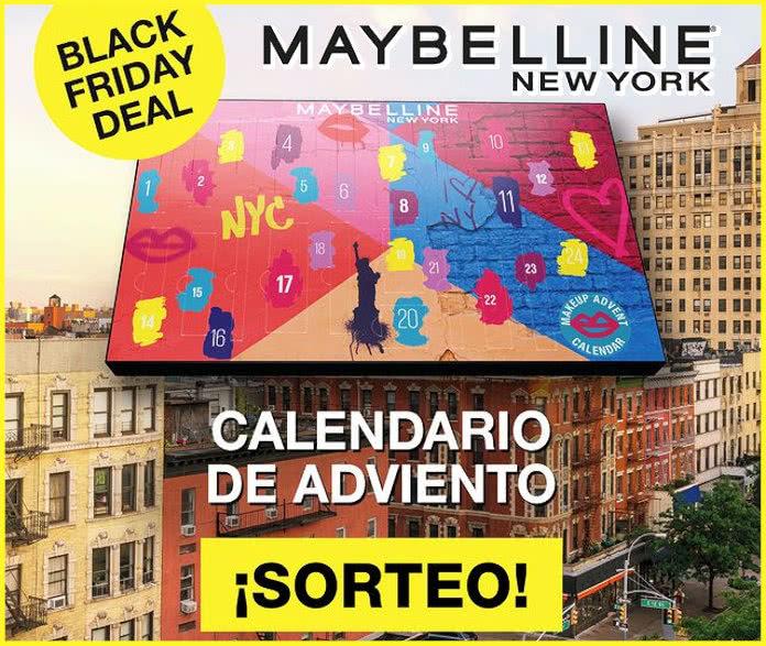 Sorteo Calendario Adviento Primor Maybelline