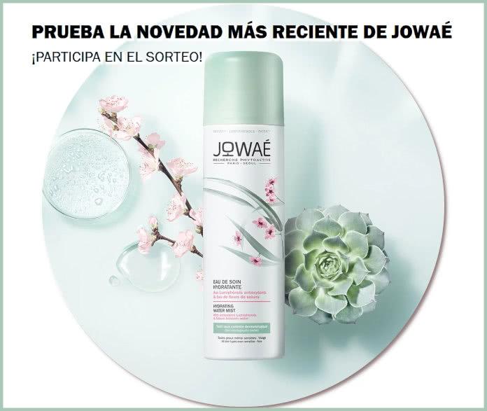 Sorteo Jowaé 40 Testers