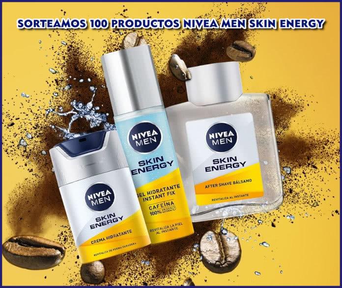 Sorteo Nivea Men 100 Skin Energy