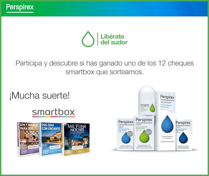 Sorteo Perspirex Smartbox