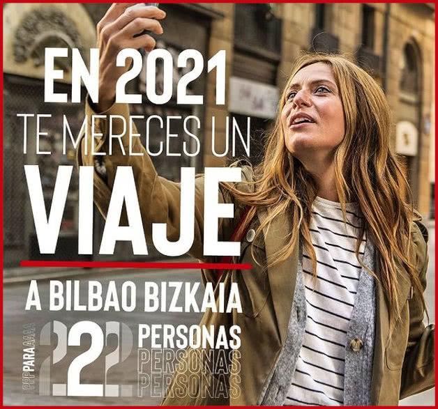 Sorteo Viaje Bilbao 2021 Para 2 Personas