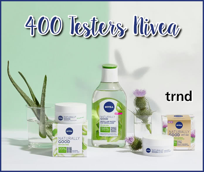Trnd 400 Testers Nivea Naturally Good