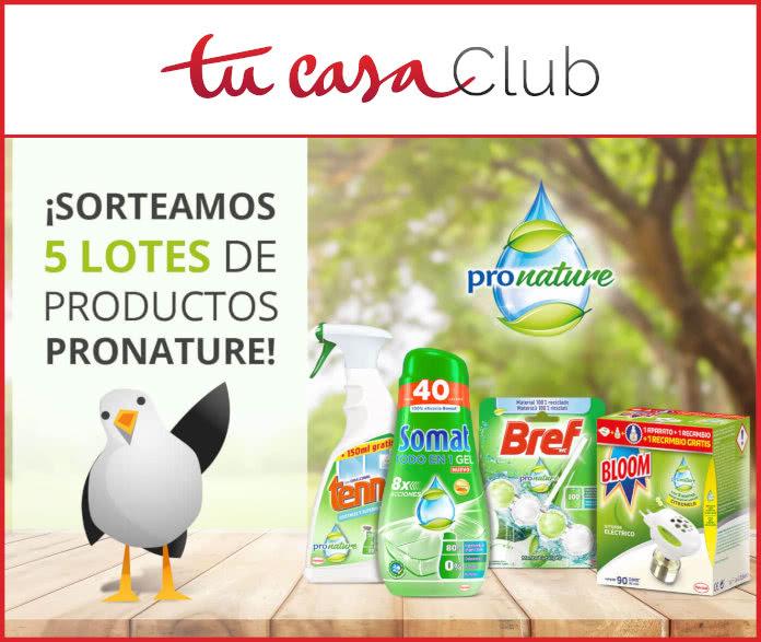 Tucasaclub Sorteo 5 Lotes Pronature