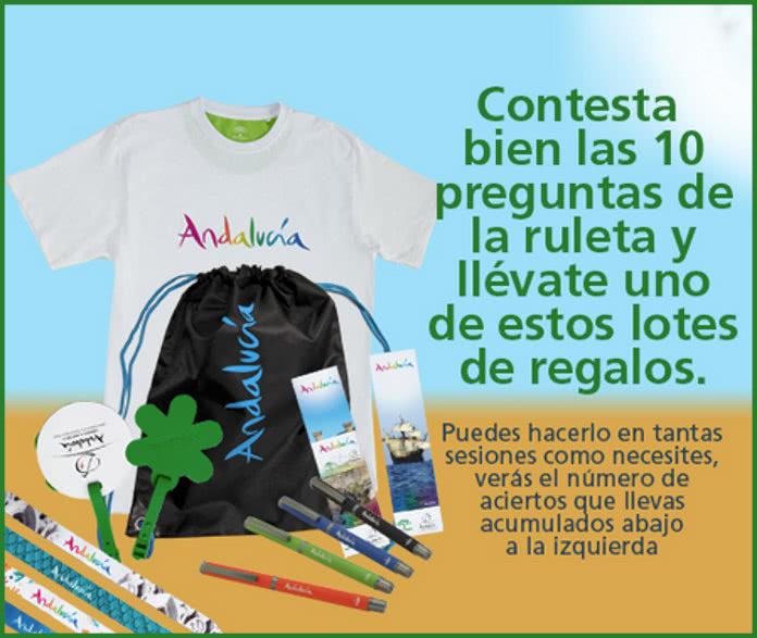 Turismo Andalucía Regala 500 Lotes