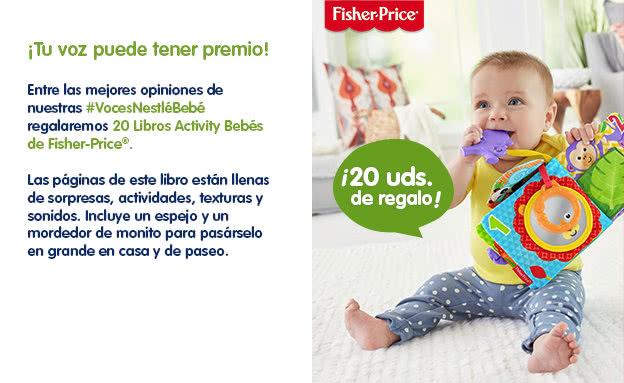 Voces Nestlé Bebé 300 Lotes Nestlé Purés - segundos premios