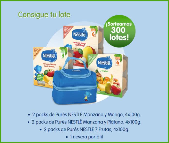 Voces Nestlé Bebé 300 Lotes Nestlé Purés