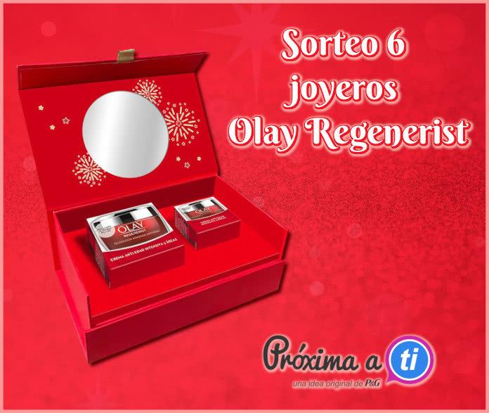 Olay Sorteo 6 Joyeros Olay Regenerist