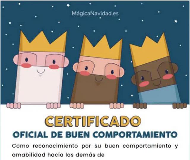Certificado Oficial Buena Conducta