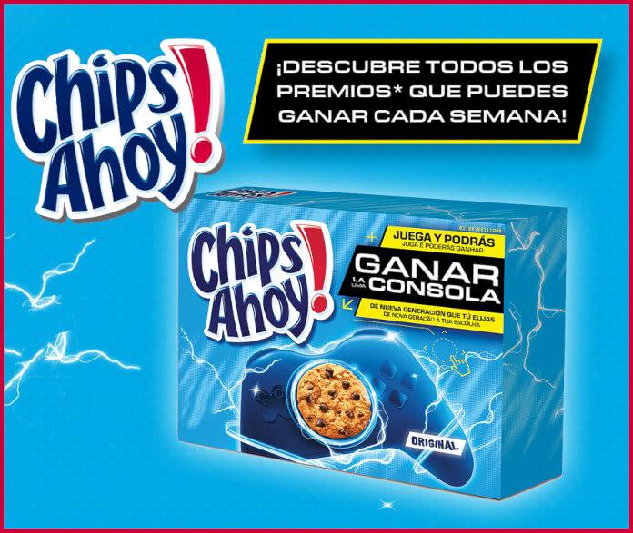 Chips Ahoy Premios Consolas