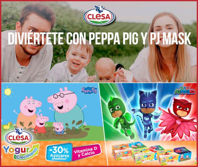 Clesa Recortables Peppa Pig Pj Masks