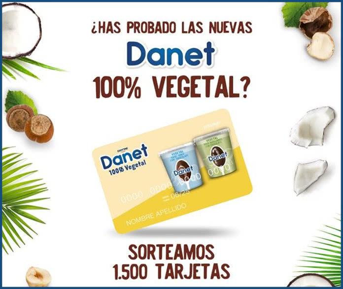 Danet Sorteo 1500 Tarjetas 6 Euros