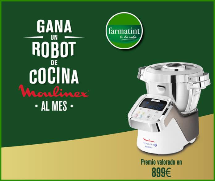 Farmatint Sorteo 11 Robots Moulinex