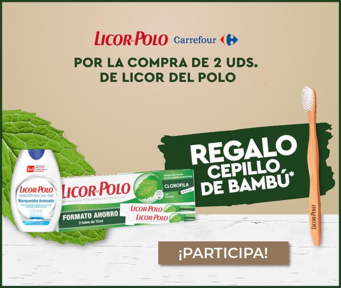 Licor Del Polo Carrefour Regalo 1000 Cepillos