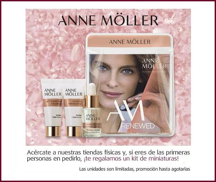 Muestras Gratis Arenal Perfumerias Anne Moller