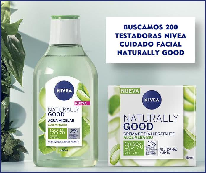 Nivea 200 Testadoras Naturally Good
