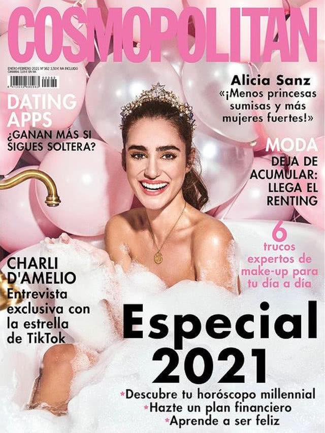 Portada Revista Cosmopolitan Enero 2021