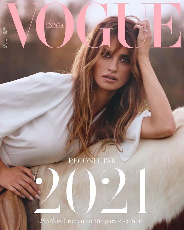Portada Revista Vogue Enero 2021