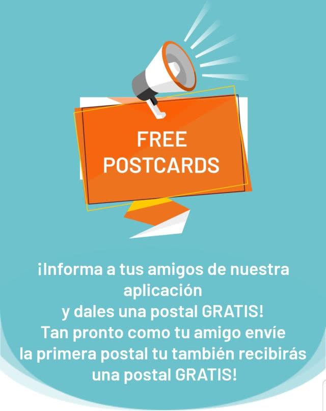 Postando Postales Gratis Por Invitar