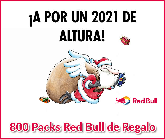 Redbull Regala 800 Packs Dobles
