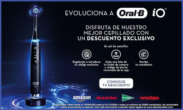 Reembolso Oral-B IO 80 Euros