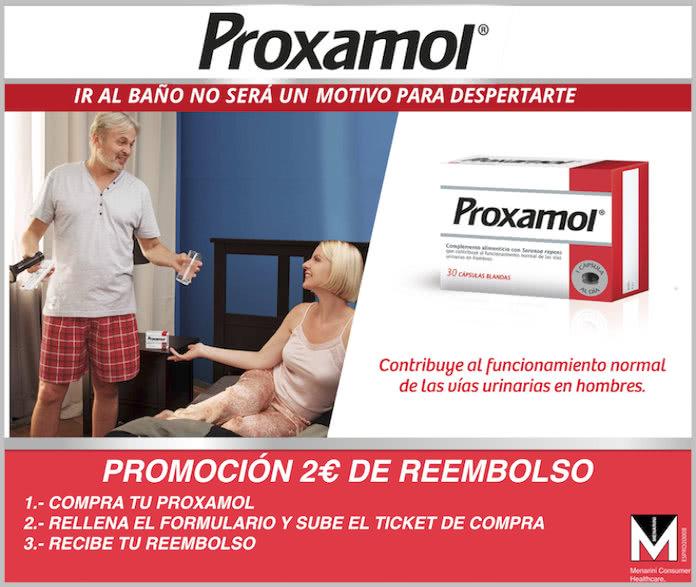 Reembolso Proxamol 2 Euros