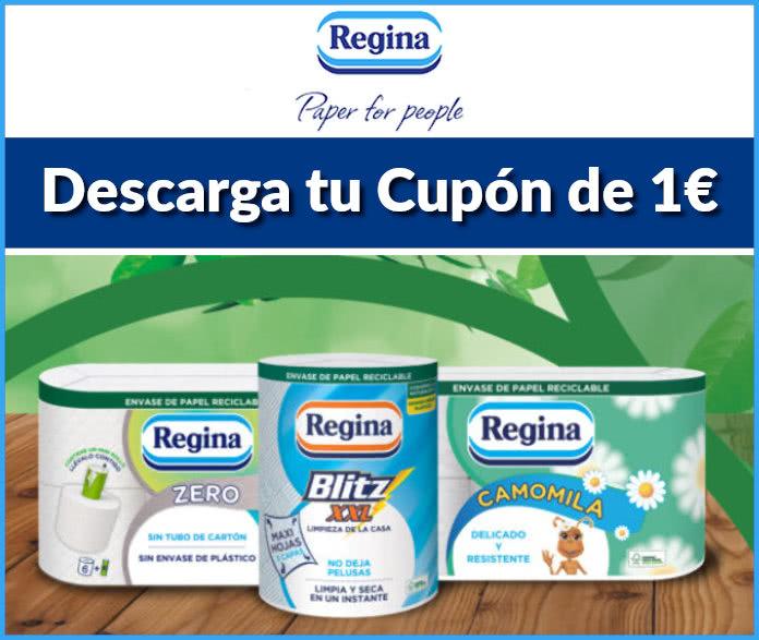 Regina Cupón Descuento 1 Euro