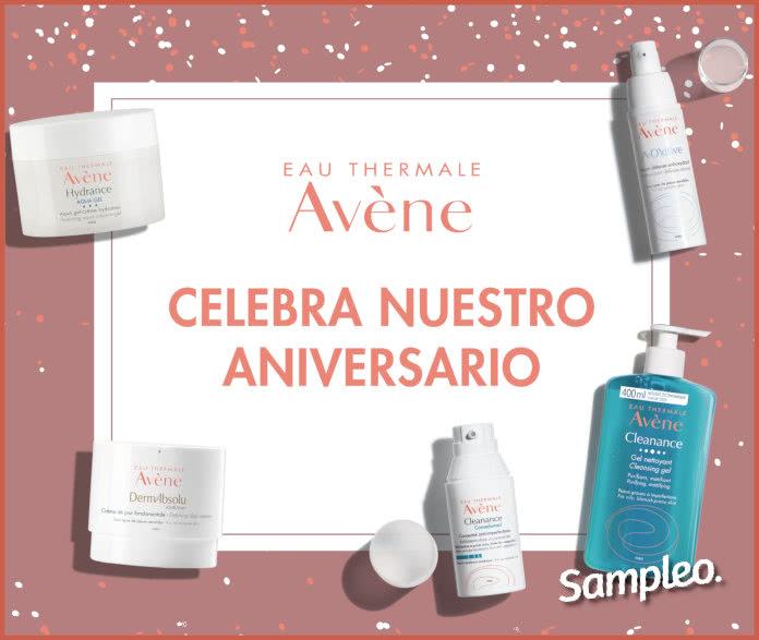Sampleo Proyecto Avène Aniversario