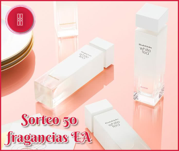 Sorteo 50 Fragancias Ea White Tea