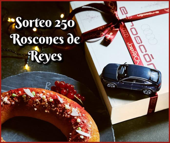 Sorteo Audi Jordi Roca 250 Roscones Reyes