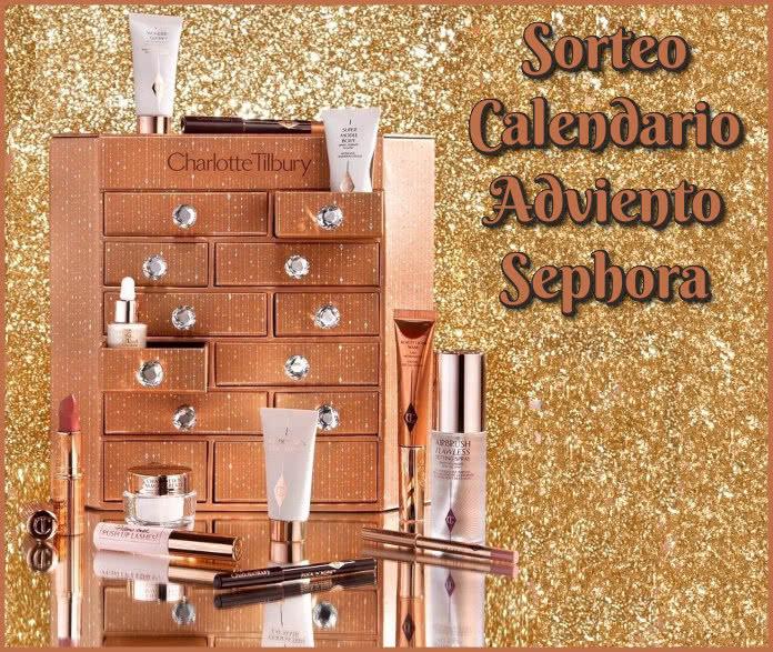 Sorteo Calendario Adviento Charlotte Tilbury