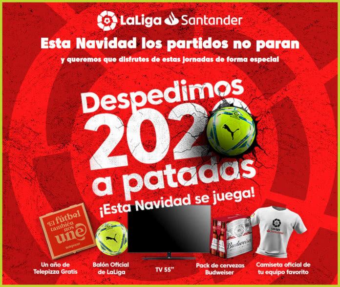 Sorteo La Liga Santander Despedimos 2020