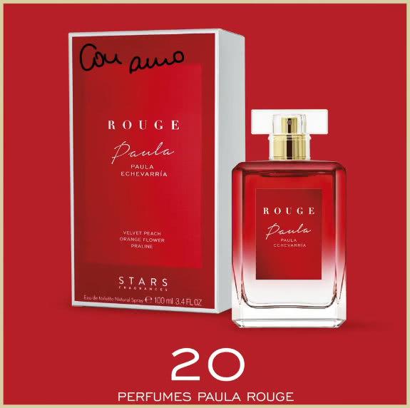 Sorteo Paula Echevarria Primor Perfume Rouge
