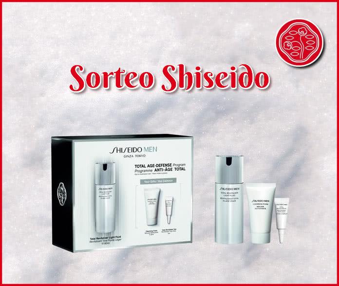 Sorteo Shiseido Men Total Revitalizer Light Fluid