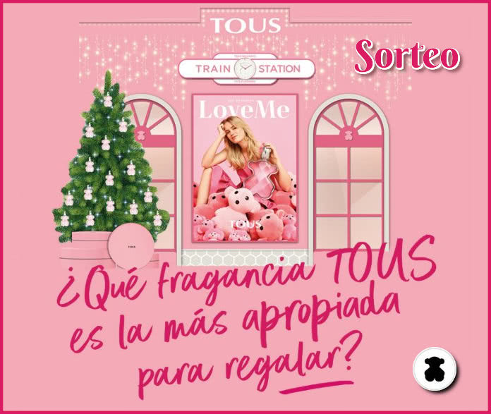 Sorteo Tous 50 Fragancias LoveMe