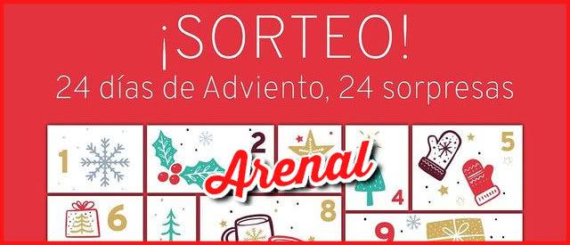 Sorteos Calendarios Adviento 2020 Arenal