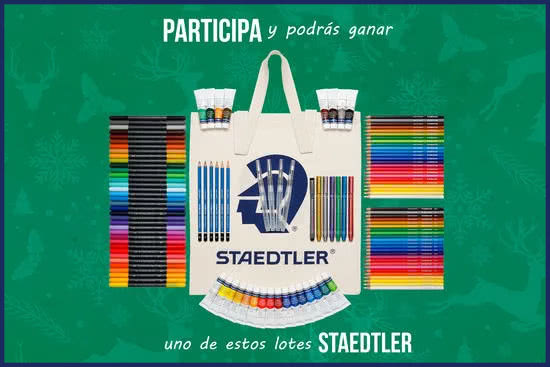 Staedtler Sorteo Dibujo Postal 10 Lotes