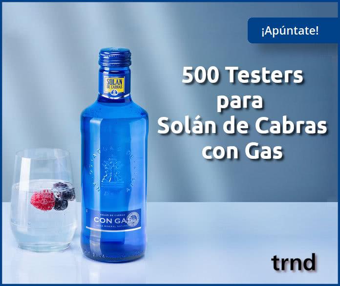 Trnd Proyecto 500 Testers Solán De Cabras