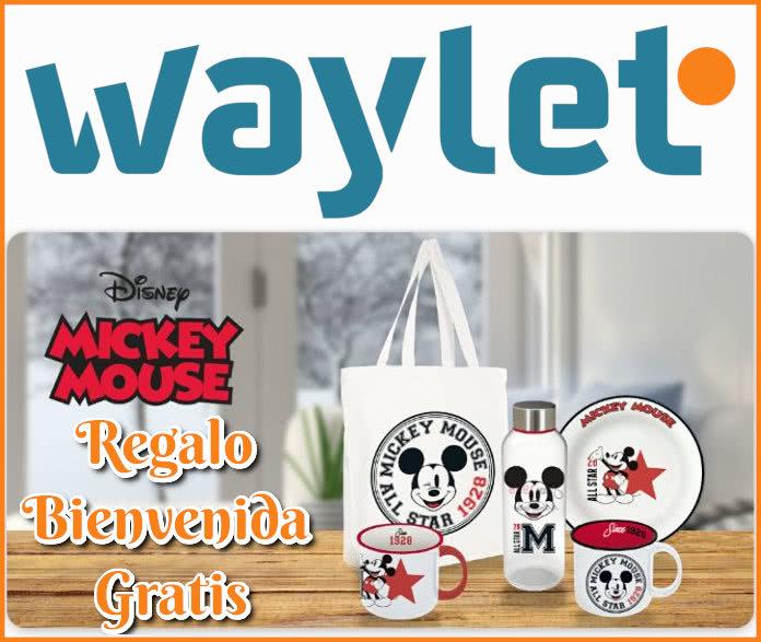 Waylet Regalo Bienvenida Disney