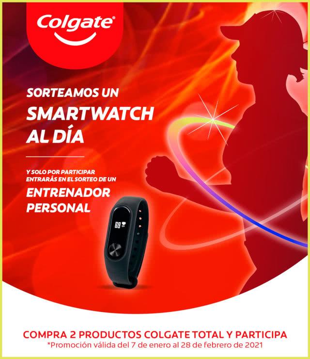 Colgate Sorteo Smartwatch Al Día