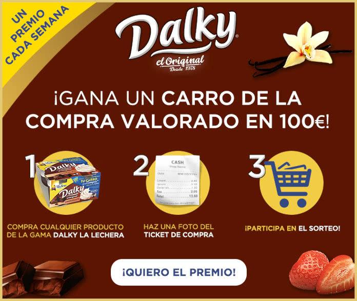 Dalky Sorteo Semanal Carro Compra