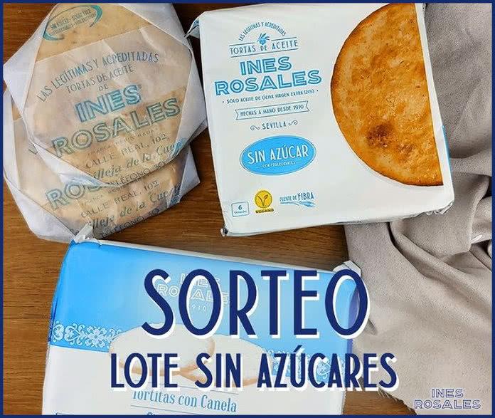 Inés Rosales Sortea 5 Lotes Sin Azúcares Regalos Y Muestras Gratis