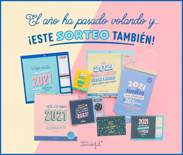 Mr Wonderful Sorteo Calendarios 2021