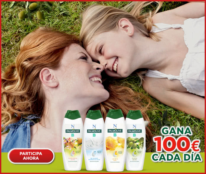 Palmolive Sorteo 100 Euros Diarios