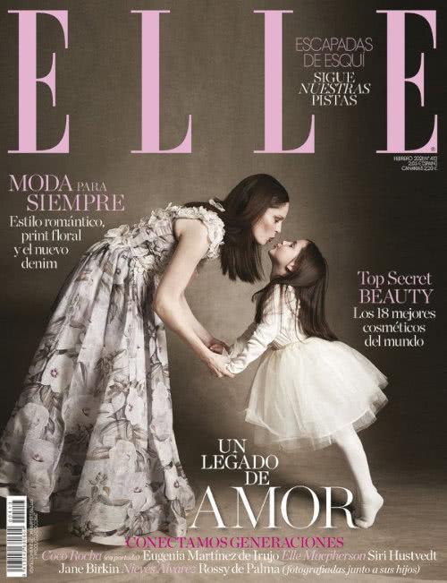 Portada Revista Elle Febrero 2021