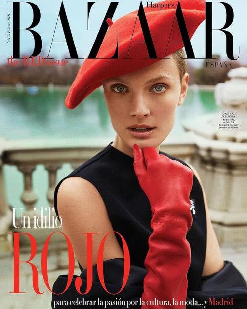 Portada Revista Harpers Bazaar Febrero 2021