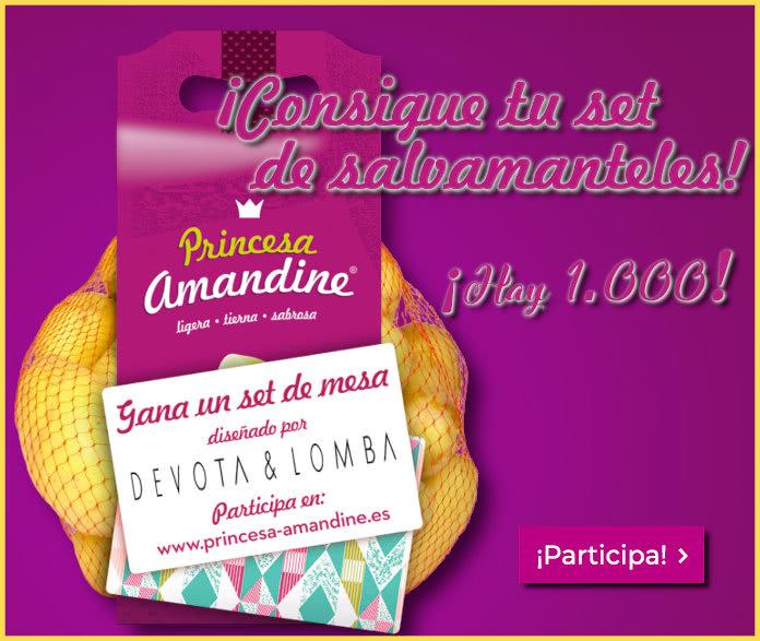 Princesa Amandine Sorteo 1000 Salvamanteles